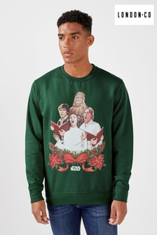 London Co Star Wars Carol Singing Christmas Sweatshirt