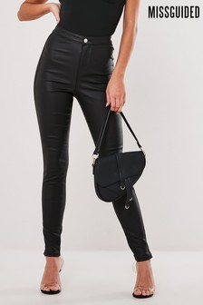 Missguided PU Vice Skinny Jean