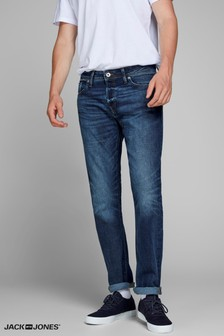 Jack & Jones Comfort Fit Mid Wash Jeans
