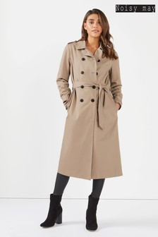 Noisy May Long Trench Coat