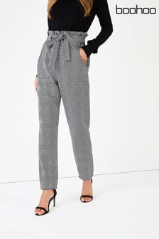 Boohoo Woven Slim Fit Trousers