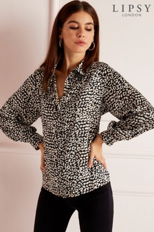 Lipsy Printed Shirt