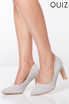 Quiz Court Block Heel Sandals