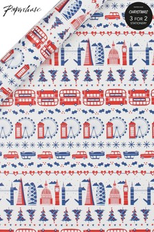 Paperchase 3M London Christmas Wrapping Paper