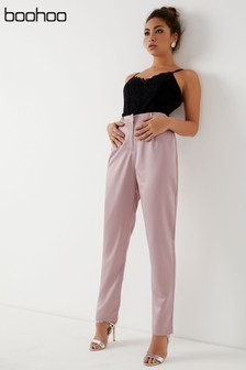 Boohoo Tapered Trousers