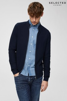 Selected Homme High Neckline Cardigan
