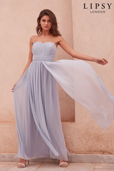 Lipsy Bella Bandeau Maxi Dress