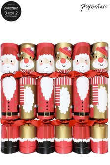 Paperchase Christmas Print Crackers