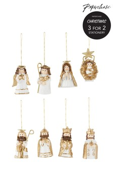 Paperchase Christmas Nativity Set