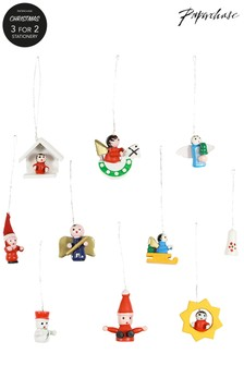 Paperchase 48 Mini Christmas Ornaments