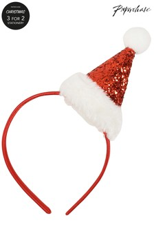 Paperchase Santa Hat Band