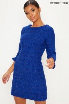 PrettyLittleThing Boucle Mini Dress