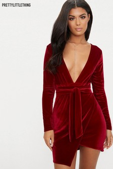 7a11243fc9 Women s Dresses PrettyLittleThing Red Prettylittlething