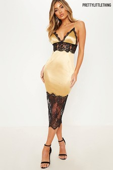 PrettyLittleThing Lace Cami Dress