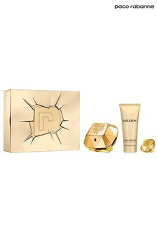 Paco Rabanne Lady Million Eau de Parfum 80ml, Body Lotion 100ml & Mini 5ml Gift Set