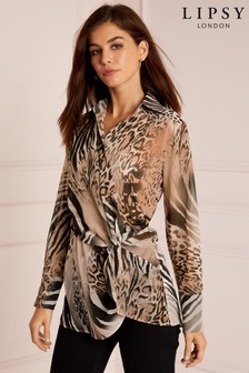 Ladies Official Womens Cream Site Tops Next Blouses SEECqFw