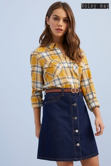 Noisy May Denim Skirt