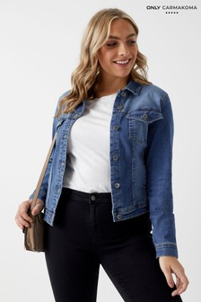 Only Carmakoma Curve Denim-Jacke