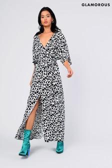 Glamorous Kimono Sleeve Maxi Dress