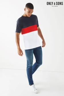 Only & Sons Colour Block Tee