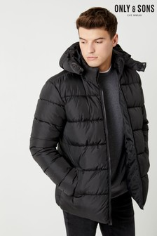 Only & Sons Hooded Padded Jacket