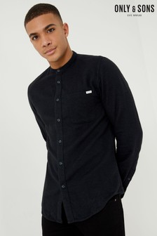 Only & Sons Long Sleeve Slim Fit Plain Shirt
