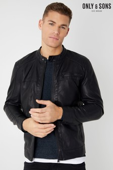 915816f0de003 Buy Men s coatsandjackets Coatsandjackets Leatherlook Leatherlook ...