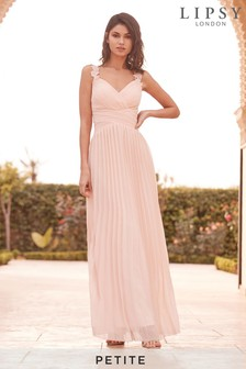Lipsy Petite Millie Floral Lace Strap Maxi Dress