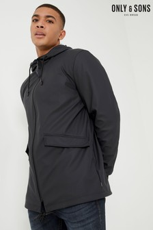 Only & Sons Rain Jacket With Hood