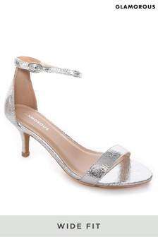 0561f8b411 Silver High Heel Sandals | Next Official Site