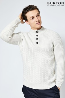 Burton Button Detail Jumper