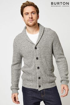 Burton Button Detail Cardigan