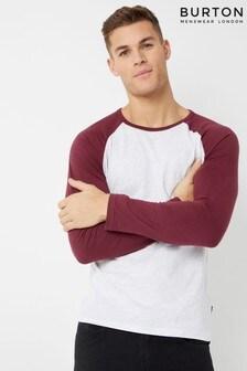 Burton Raglan Sleeve T-Shirt