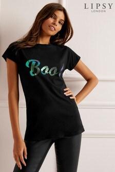 Lipsy Halloween Boo! T-Shirt