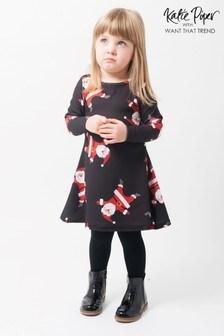 Want That Trend Kids Santa Dress