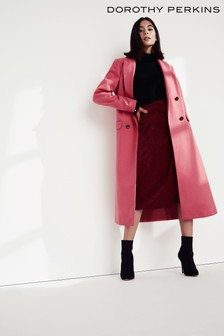 Dorothy Perkins Longline Coat