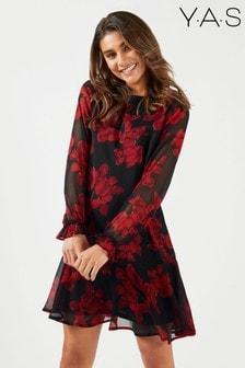 שמלה עם שרוול ארוך של Y.A.S
