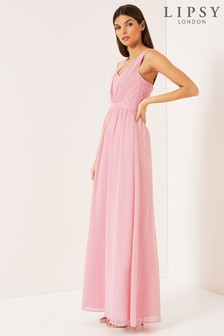 Lipsy Ruched Sweetheart Dress