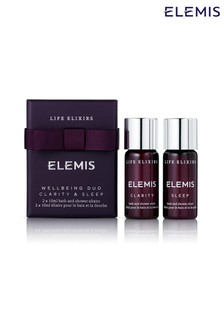 ELEMIS Life Elixirs: Clarity & Sleep Wellbeing Duo 2x10ml