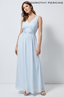 Dorothy Perkins Beaded Waist Maxi Dress