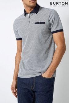 Burton Outline Popcorn Polo T-Shirt