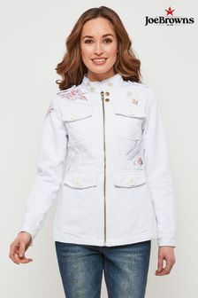 Joe Browns High Collar Embroidered Jacket
