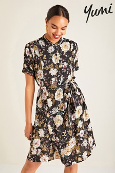 Yumi Floral Shirt Dress