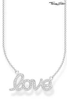 Thomas Sabo Love Scripted Necklace