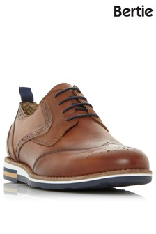 Bertie Leather Hybrid Brogue Shoes