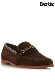 Bertie Chain Trim Loafer Shoes