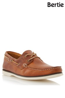 Bertie Leather Boat Shoes