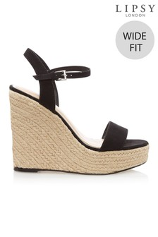 Lipsy Wide Fit Espadrille Wedges