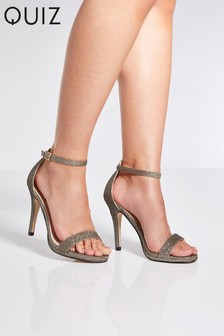 Quiz Strappy Heel Sandals