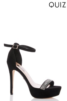Quiz Cross Strap Platform Heel